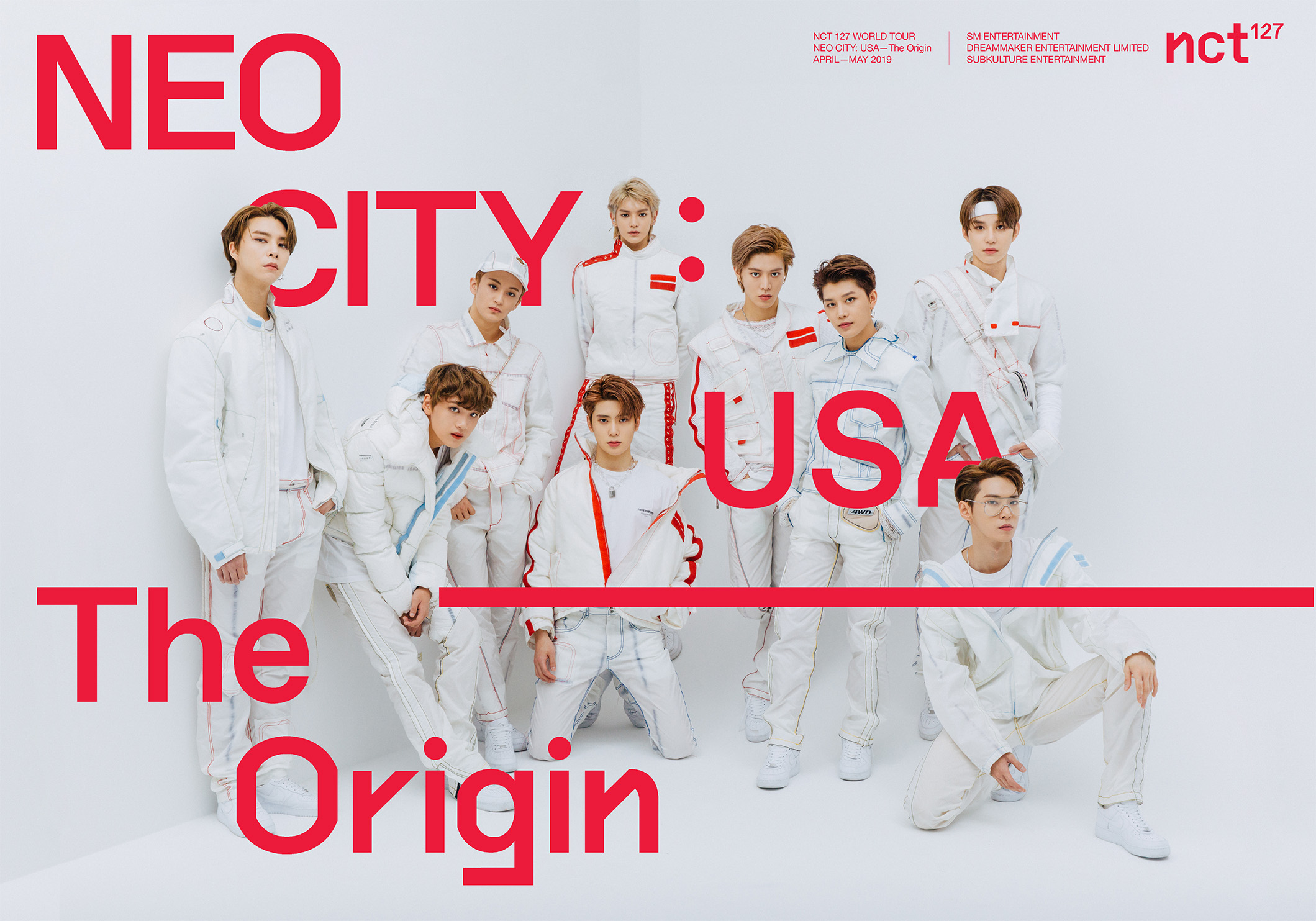 NCT 127 is having a North American tour! – Tokki Star